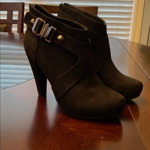 Ankle booties - used good condition